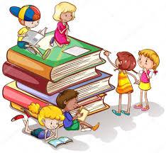 Resultado de imagem para Livros com crianças