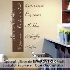 Details Zu Wandtattoo Wandbanner Wandaufkleber Spruch Küche Kaffe Coffee Cafe Esszimmer K02