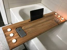 wood bathtub tray diy