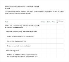 Project Management Plan Template Free Download Project Format Template Transition Project Plan Excel Format