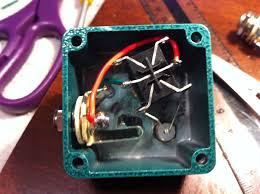 footswitch w led indicator for a h k amp i actually used the silver sharpie i wrote loop on the pedal the paint the led and it s not as bright now