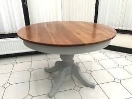 shabby chic extending dining table shabby chic vintage round extending dining table painted