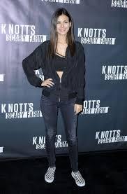 Victoria Justice Knott s Scary Farm Black Carpet 2 OCT 2015.