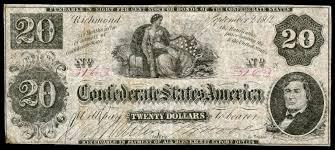 Confederate Money Value Chart Confederate States Dollar Wikipedia
