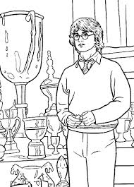 Here is a collection of 20 harry potter coloring sheets featuring the cartoon images of the characters from this series. Free Printable Harry Potter Coloring Pages For Kids