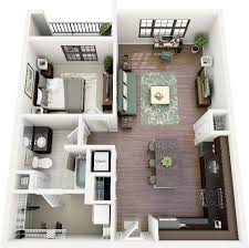 20 one bedroom with many closets