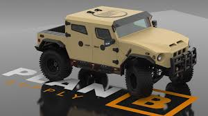 New Humvee Design Plan B Supply New Ricochet Armored Humvee Body Design