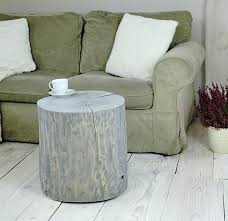 tree stump furniture. Gray Washed Tree Stump Side Table Scandinavian Style Wooden Baumstamm Tisch Sgabello Furniture