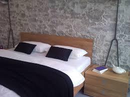 Schlafzimmer Wand Mit Holz Wandverkleidungen Holz Rustikal Bs