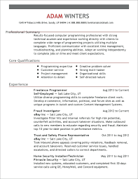 A Summary For A Resumes Resume Resume Summary Statement