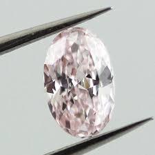 Pink Diamond Clarity Chart Fancy Light Pink Diamond Oval 0 31 Carat Si1 Pink
