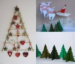 Homemade Christmas Wall Decorations Rake Christmas Tree Craft Craft Items For Christmas