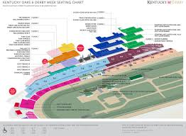 2018 Seating Chart Kentucky Derby Derby Horse Derby