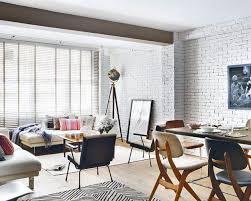 Exposed Brick Living Room Walls Design IdeasWhite Brick Wall Living Room