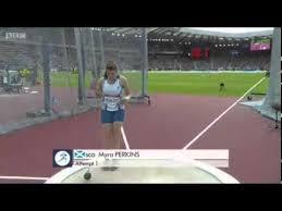 Myra Perkins Round 1 Commonwealth Games 2014 Hammer Final - YouTube