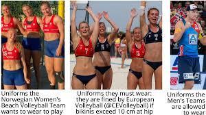 Norwegian Women's Beach Volleyball team ...