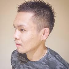 藤枝晃也さんのヘアスタイル 自分らしいメンズ刈り上げp Tredina