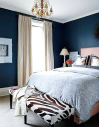 Blue Bedrooms Simple Design