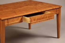 cherry coffee table. Cherry Wood Coffee Table And End Tables Set E