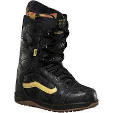 vans ferra pro snowboard boot women s black yellow mary rand