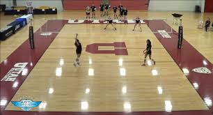 Ball control drill with Beth Launiere   The Art of Coaching Volleyball