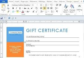 Make Your Own Gift Certificate Free Printable Make Your Own Gift Certificate Free Blank Template Christmas