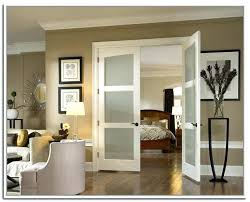 bedroom french doors master double home depot with frosted glass for the