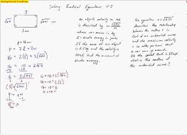 radical equations word problems with answers tessshlo