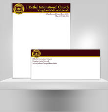 Letter Headed Paper Template Sample Of Church Letterhead Exergames Info