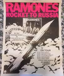 <b>Ramones</b> - <b>Rocket To</b> Russia   Posterogs Database & Marketplace