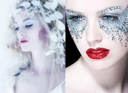 ice princess inspired make up