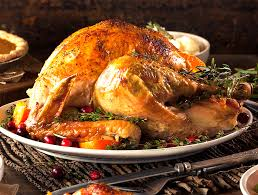 Image result for turkey dinner with all the trimmings