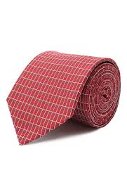 Мужской красный <b>шелковый галстук HUGO</b> — купить за 5600 руб ...