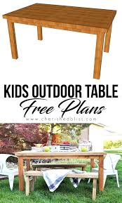 kidkraft outdoor table stacking chair set with umbrella