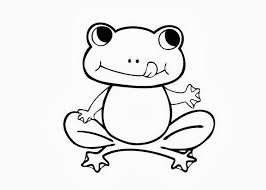 Small Picture Frog Coloring Pages For Clipart Panda Free Clipart Images