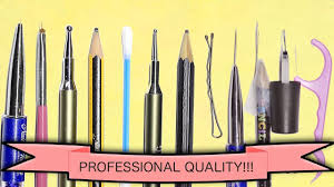 DIY MAKE YOUR OWN NAIL ART TOOLS - PROFESSIONAL QUALITY FULL SET ...