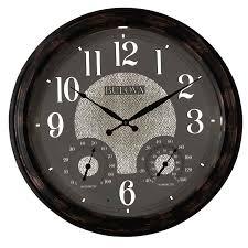 weather mate wall clock 22 by bulova