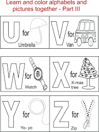 Alphabet Coloring Pages Pdf As Cool My A To Z Coloring Book Letter H