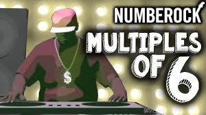 6 Times Table Song Skip Counting By 6 Multiplication Song