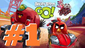 Angry Birds Go 2.0 Epic Gameplay Part 1 - Ready.... Set... Angry Birds Go!!!  - YouTube