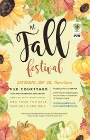Fall Festival Flier Fsk Fall Festival 2019 Francis Scott Key Elementary School
