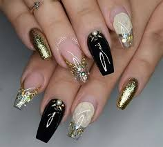 Decorative Nail Art Designs 100 Sparkling Holiday Nail Art Designs To Try This Christmas 4