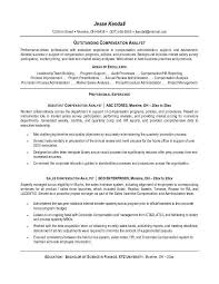 Internal Resume Template