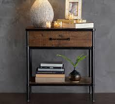 reclaimed wood nightstand. Juno Reclaimed Wood Nightstand