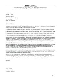 Example Cover Letters For Internships Sample Cover Letter For