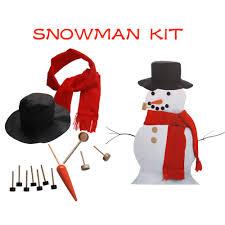 decorations simulation wooden snowman costume outdoor decorations snowman toolkit xmas gift decoraciones de navidad ping for