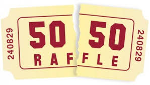 50/50 raffle at sport events
