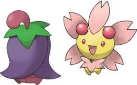Pokemon Cherrim Evolution Chart