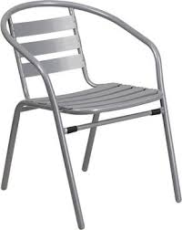 contemporary furniture chairs. Beautiful Chairs Flash Furniture Metal Restaurant Stack Chair With Aluminum Slats  TLH017CGG  889142043669 Throughout Contemporary Chairs
