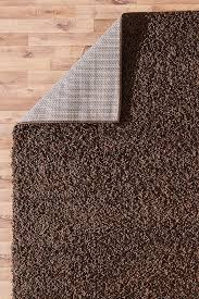 brownshaggysoftmoderncarpetlargethick5cm fluffy brown rug n22 fluffy